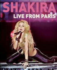 Cover Shakira - Live From Paris [DVD]